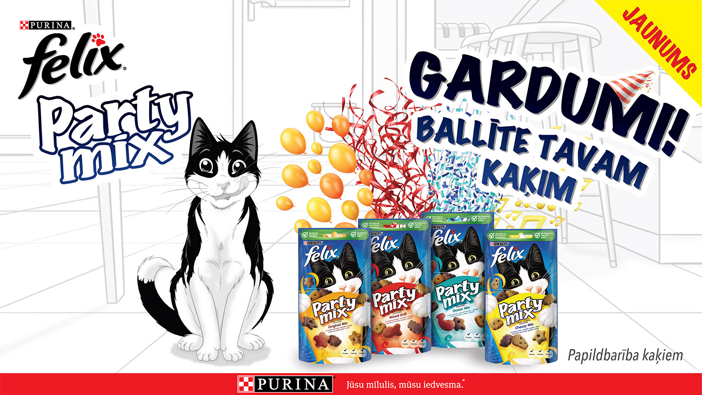 Purina Felix Party Mix