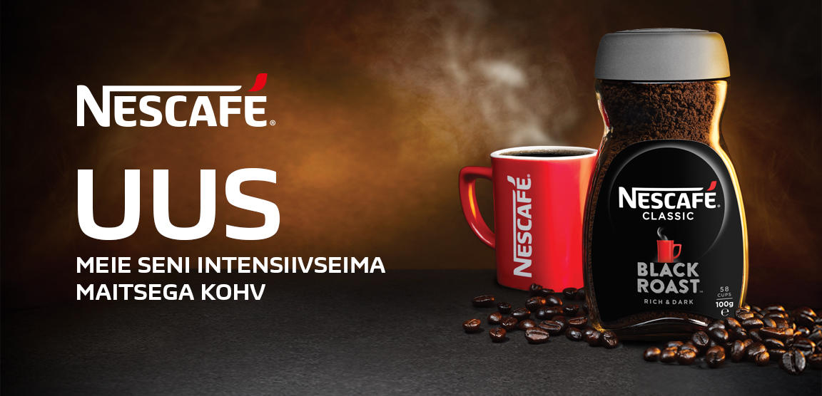 Nescafe Black Roast Ee