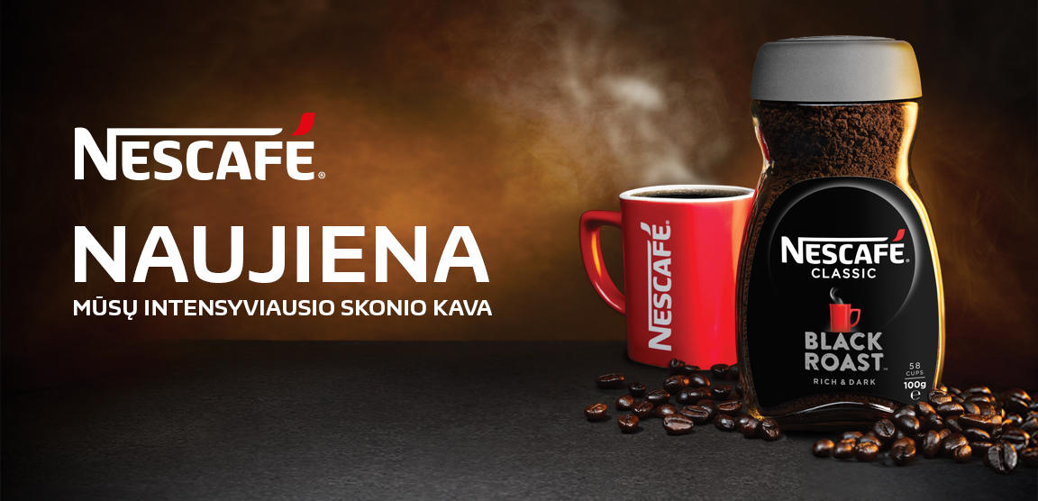 Nescafe Black Roast Lt